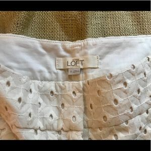 LOFT Shorts - Ann Taylor LOFT Patterned Shorts Sz 0